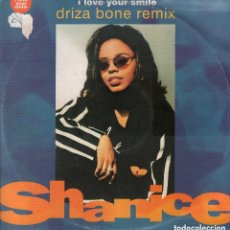 Discos de vinilo: LOVE YOUR SMILE DRIZA BONE REMIX SHANICE / LP MAXISINGLE DE 1992 RF-7192. Lote 147150646