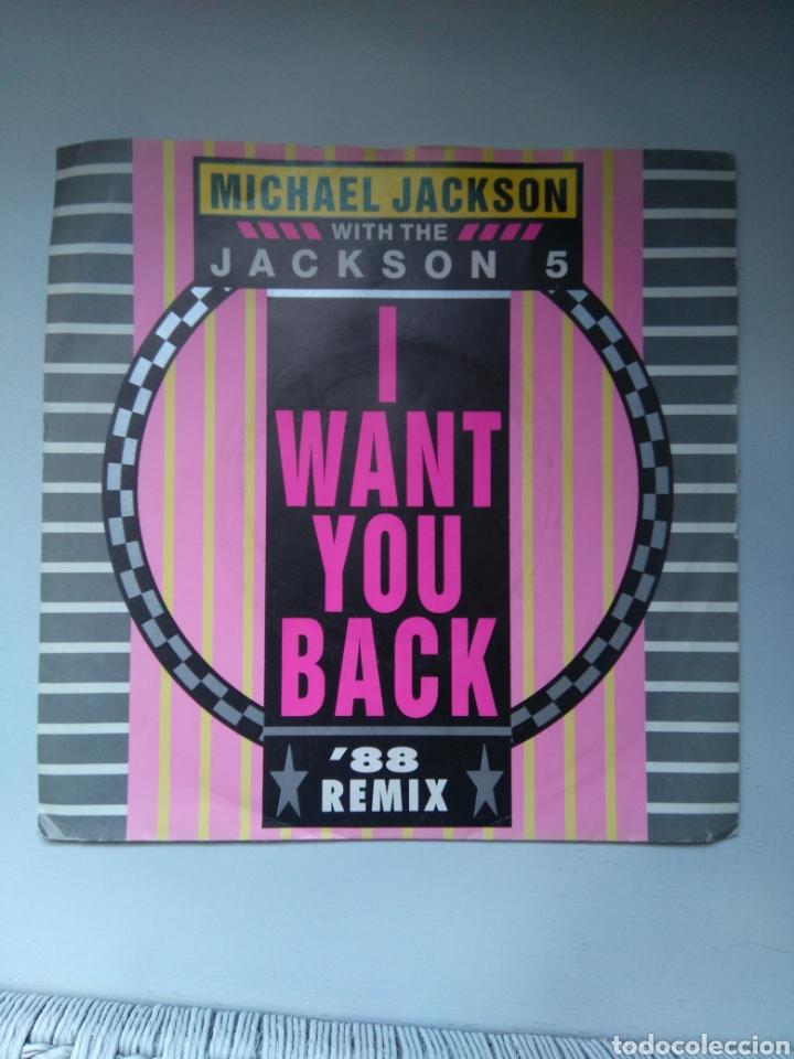 Discos de vinilo: Michael Jackson with the Jackson 5 - 1988 remix - Single vinilo - Foto 2 - 147155273