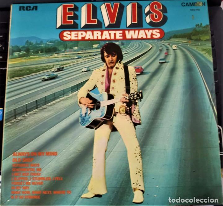 ELVIS PRESLEY - SEPARATE WAYS - LP / RCA CAMDEN UK - PUBLICADO 1974 (Música - Discos - LP Vinilo - Rock & Roll)