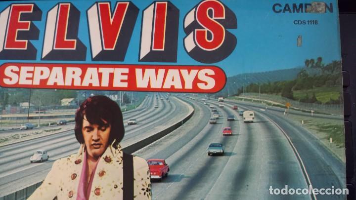 Discos de vinilo: ELVIS PRESLEY - SEPARATE WAYS - LP / RCA CAMDEN UK - PUBLICADO 1974 - Foto 3 - 147155902