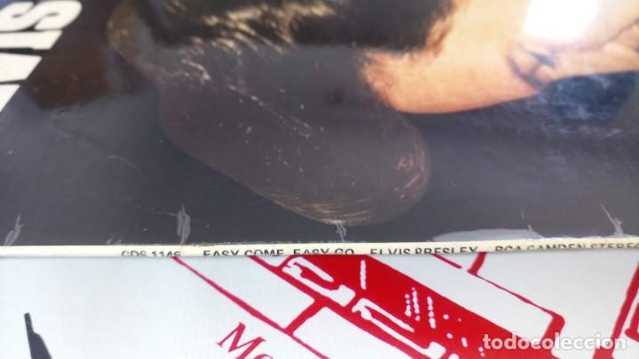 Discos de vinilo: ELVIS PRESLEY - EASY COME EASY GO - LP / RCA CAMDEN UK - PUBLICADO 1975 - Foto 4 - 147157922