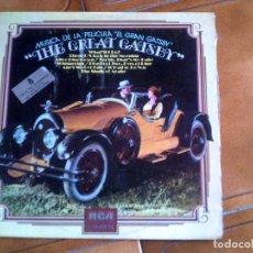 Discos de vinilo: LP DE LA BANDA SONORA DE LA PELICULA THE GREAT GATSBY. Lote 147160698