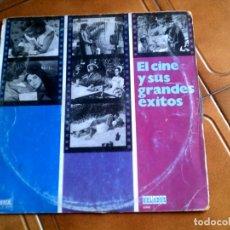 Discos de vinilo: LP EL CINE Y SUS GRANDES EXITOS CONTIENE 10 TEMAS CLASICOS. Lote 147161282