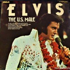 Discos de vinilo: ELVIS PRESLEY - THE U.S. MALE - LP / RCA CAMDEN UK - PUBLICADO 1975. Lote 147162166