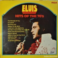 Discos de vinilo: ELVIS PRESLEY - HITS OF THE 70'S - LP / RCA - PUBLICADO 1977. Lote 147168434
