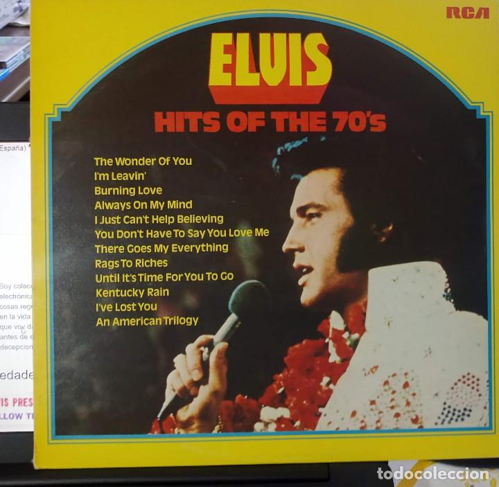 Discos de vinilo: ELVIS PRESLEY - HITS OF THE 70'S - LP / RCA - PUBLICADO 1977 - Foto 2 - 147168434