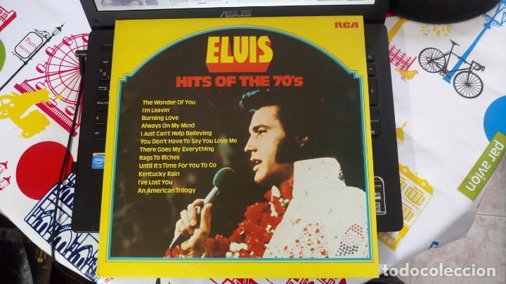 Discos de vinilo: ELVIS PRESLEY - HITS OF THE 70'S - LP / RCA - PUBLICADO 1977 - Foto 6 - 147168434