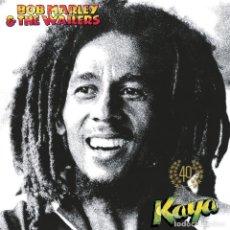 Discos de vinilo: BOB MARLEY & THE WAILERS - KAYA 40TH [EDICIÓN LIMITADA] [2 LP'S] [VINILOS COLOR VERDE]. Lote 147174858