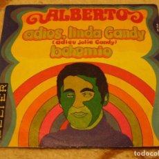 Discos de vinilo: ALBERTO SINGLE 45 RPM ADIÓS LINDA CANDY BELTER ESPAÑA 1970. Lote 147177798