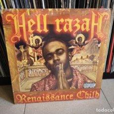 Discos de vinilo: HELL RAZAH - RENAISSANCE CHILD (2XLP, ALBUM) . Lote 147183506