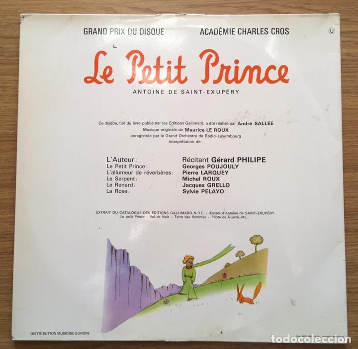 Discos de vinilo: EL PRINCIPITO SAINT EXUPERY LE PETIT PRICE LP EDIC FRANCIA FESTIVAL - Foto 2 - 147184118