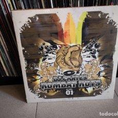 Discos de vinilo: DJ CRATES - KOMBAT KUTS VOLUME 01 (LP) BATTLE DJ SCRACH. Lote 147184182