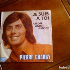 Discos de vinilo: SINGLE DEL CANTANTE PIERRE CHARBY. Lote 147184830