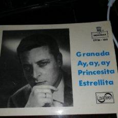 Discos de vinilo: ALFREDO KRAUS. GRANADA / AY, AY, AY / / PRINCESITA / ESTRELLITA. Lote 147187846