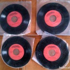 Discos de vinilo: LOTE DE CUATRO SINGLES DE LA SEGUNDA GUERRA MUNDIAL AÑO 1970. Lote 147191038