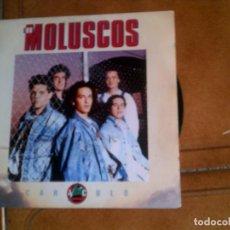 Discos de vinilo: SINGLE DEL GRUPO LOS MOLUSCOS ,TEMA CARACULO. Lote 147191746