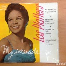 Discos de vinilo: EP LOS PLATTERS EDITADO EN ESPAÑA MY SERENADE . Lote 147206130