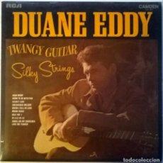 Dischi in vinile: DUANE EDDY. TWANGY GUITAR SILKY STRINGS. RCA-CAMDEN, UK 1970 LP. Lote 147206706