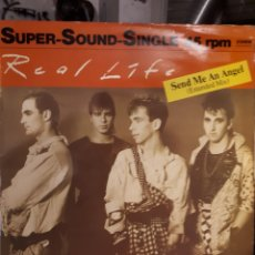 Discos de vinil: REAL LIFE-SEND ME AN ANGEL(EXTENDED MIX). Lote 147208316