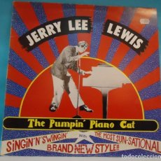 Discos de vinilo: LP JERRY LEE LEWIS - THE PUMPIN' PIANO CAT . Lote 147211066