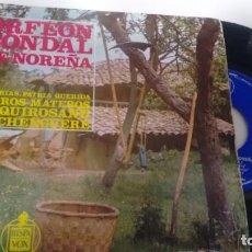 Discos de vinilo: E P (VINILO) DE ORFEON CONDAL DE NOREÑA AÑOS 60. Lote 147216150
