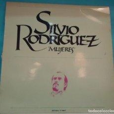 Discos de vinilo: LP SILVIO RODRIGUEZ - MUJERES . Lote 147218194