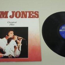 Disques de vinyle: J- TOM JONES GREATEST HITS VINILO LP USA PORT-VG++ DISC-VG++. Lote 147219182