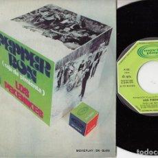 Discos de vinilo: PEKENIKES - PEPPER BOX - SINGLE RARO DE VINILO PROMOCIONAL GRABADO SOLO POR UNA CARA. Lote 147224906