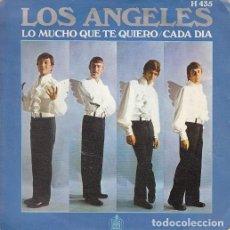 Discos de vinilo: LOS ANGELES - LO MUCHO QUE TE QUIERO - SINGLE DE VINILO. Lote 147226054
