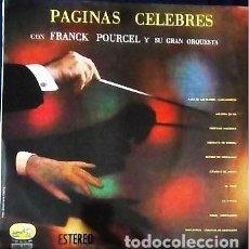 Discos de vinilo: LP PÁGINAS CÉLEBRE DE POURCEL . Lote 147237634