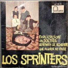 Discos de vinilo: LOS SPRINTERS- EXPLICACION - EP- ED. ESPAÑOLA- 1967. Lote 147240642