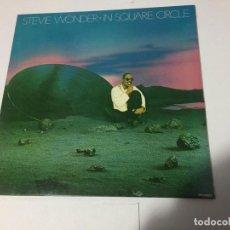 Discos de vinilo: STEVIE WONDER-IN SQUARE CIRCLE..DISCO DE CARPETA DESPEGABLE... Lote 147250942
