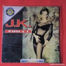 Discos de vinilo: J.K. ?– YOU & I. Lote 147254078
