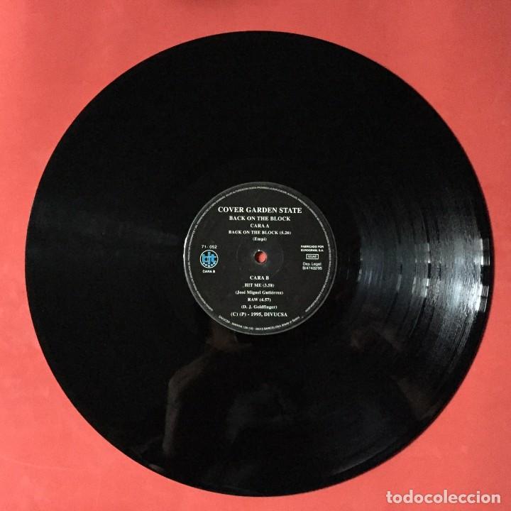 COVER GARDEN STATE – BACK ON THE BLOCK (Música - Discos - Singles Vinilo - Disco y Dance)