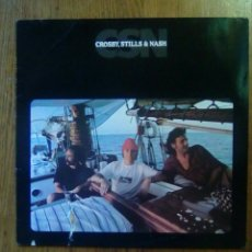 Discos de vinilo: CROSBY, STILLS & NASH - CSN, ATLANTIC, 1977. GERMANY.. Lote 147257849