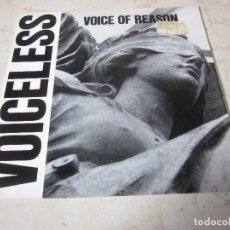 Discos de vinilo: VOICELESS - VOICE OF REASON - FAIL SAFE RECORDS 1989. Lote 147267438