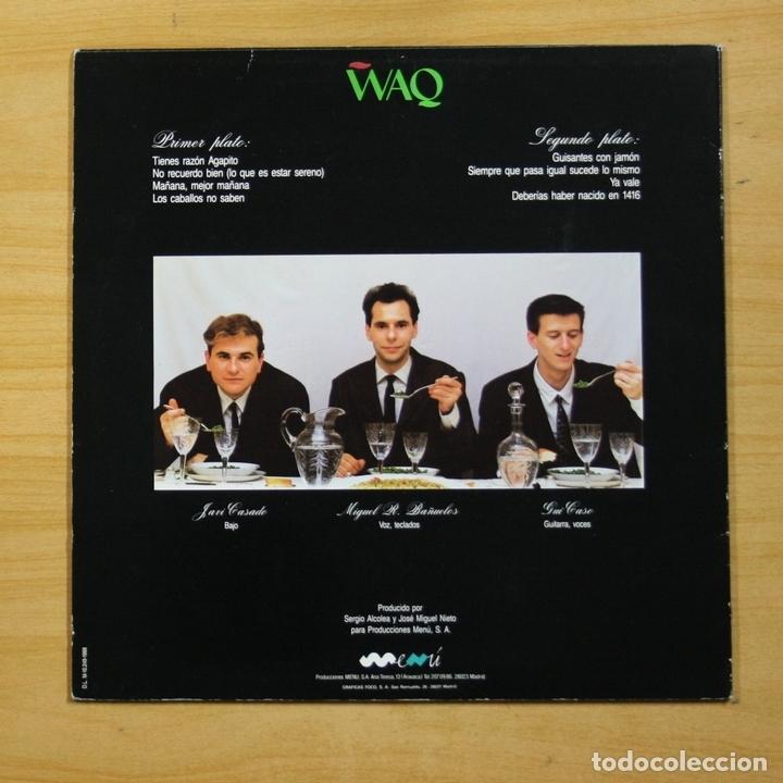 Vinyl-Schallplatten: WAQ - GUISANTES CON JAMON - LP - Foto 2 - 147278326
