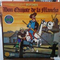 Discos de vinilo: DON QUIJOTE DE LA MANCHA - BANDA SONORA ORIGINAL - LP. DEL SELLO EPIC 1979. Lote 147278606