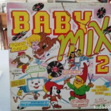 Discos de vinilo: BABY MIX 2 - BU-BU, PEQUEÑO PLANETA, LA LLAMADA DE LOS GNOMOS, .... - LP. DEL SELLO PERFIL 1987. Lote 147279362