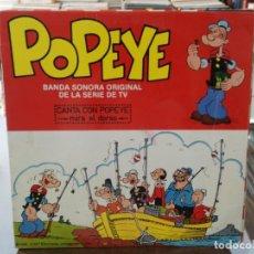 Discos de vinilo: POPEYE - BANDA SONORA ORIGINAL DE LA SERIE DE TV - LP. DEL SELLO SABAN RECORDS. Lote 147280810