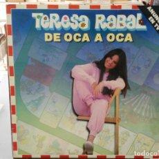 Discos de vinilo: TERESA RABAL - DE OCA EN OCA- LP. DEL SELLO MOVIEPLAY 1981. Lote 147281066
