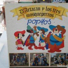 Discos de vinilo: POPITOS - D'ARTACAN Y LOS TRES MOSQUEPERROS - LP. DEL SELLO BELTER 1982. Lote 147281286