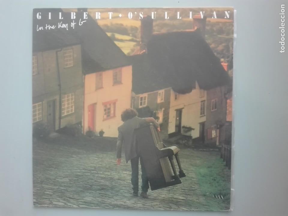 GILBERTO O SULLIVAN ON THE KEY OF G # (Música - Discos - LP Vinilo - Pop - Rock - New Wave Internacional de los 80)