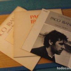 Discos de vinilo: LOTE 3 LP PACO IBAÑEZ...MIRAR FOTOS. Lote 147293562