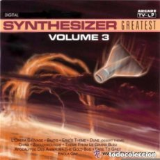 Discos de vinilo: STARINK - SYNTHESIZER GREATEST 3 - LP ARCADE SPAIN 1991. Lote 147294634