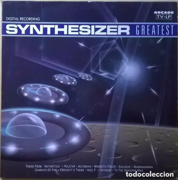 Discos de vinilo: Starink ?– Synthesizer Greatest - LP Arcade SPAIN 1990 - Foto 1 - 147295022