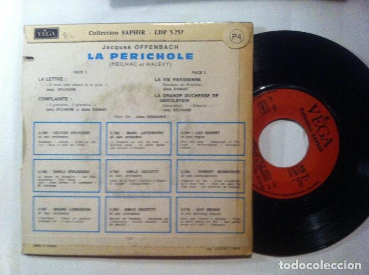 Discos de vinilo: JANY SYLVAIRE et AIME DONIAT - offenbach (la perichole) - EP FRANCES 1969 - VEGA - Foto 2 - 147295310