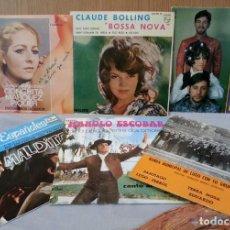 Discos de vinilo: DISCOS SINGLES MÚSICA POP. COLECCIÓN DE 6 DISCOS. AÑOS 60-70. Lote 147300138