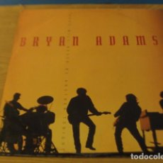 Discos de vinilo: LOTE MAXI BRYAN ADAMS THERE WILL NEVER BE ANOTHER TONIGHT SELLO AM 1991. Lote 147300902