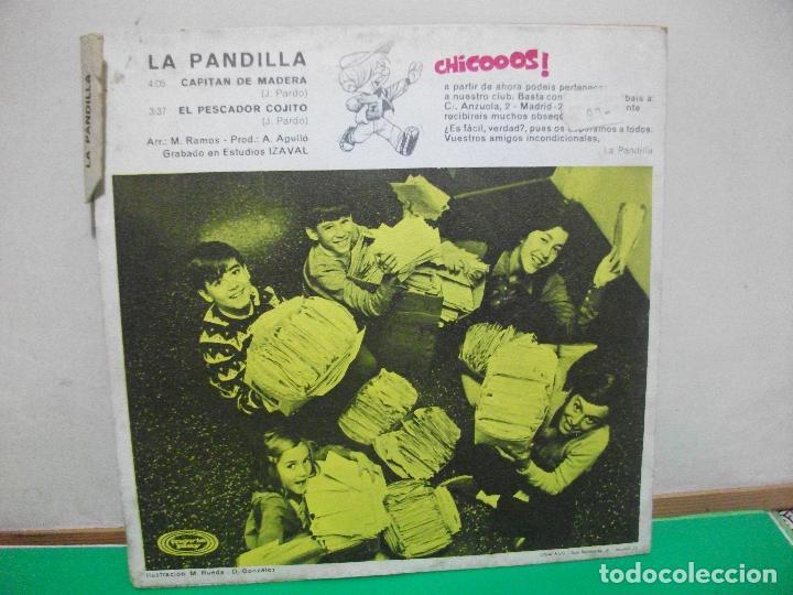 Discos de vinilo: SINGLE. INFANTIL. LA PANDILLA. CAPITAN DE MADERA / EL PESCADOR COJITO. 1970 - Foto 2 - 147301926